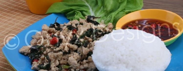 Resep: Chicken Basil Thailand