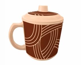 Cangkir dengan Tutup Espresso 600 ml