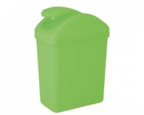 Large Rectanglar Swing Bin 10 Lt