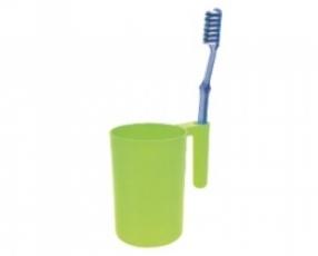 Cangkir dengan pegangan sikat gigi 430 ml