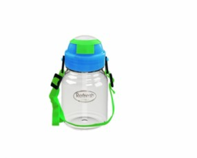 Mini Refresh Water Bottle dgn Tali 350ml