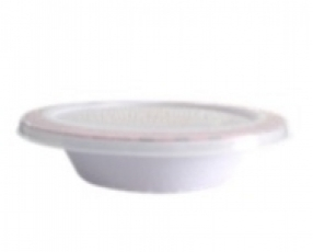 "6.5"" Flat Bowl With Cover"