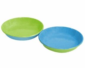 """3.8"""" Bicolor Sauce Plate"""