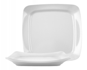 """10"""" Quatro Square Plate"""
