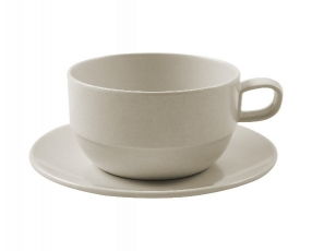 Stackable Cup 250 ml & Saucer