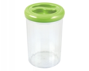 Tall Round Canister 1.8 Lt