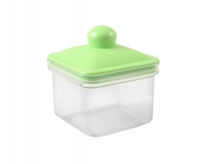 Small Square Canister 0.8 Lt
