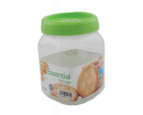 Essential Small Square Canister 0.8 Lt