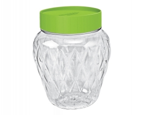Large Crystal Canister 2 Lt