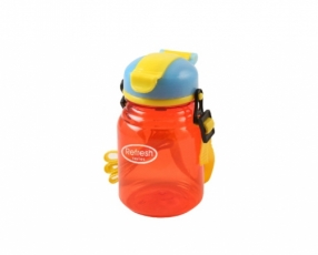 Mini Multicolor Refresh Water Bottle with Strap 350 ml