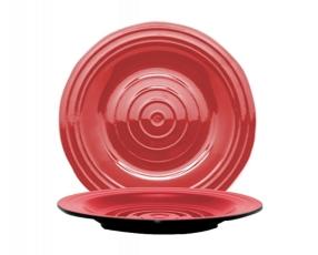 """7"""" Oriental Bicolor Plate"""