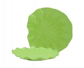 "6.5"" Lotus Plate"