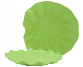 "9.5"" Lotus Plate"