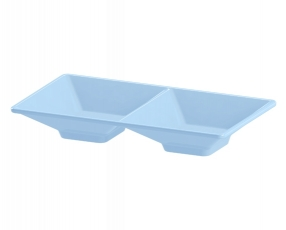 "5.5"" 2 Tray Condiment Dish"