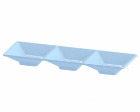 "8"" 3 Tray Condiment Dish"