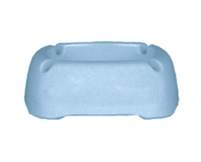 "3.8"" Rectangular Ashtray"