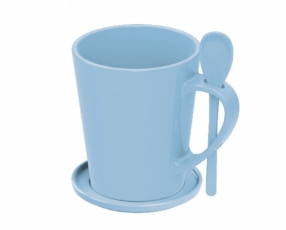 Cone Mug + Cover 400 ml