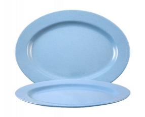 "10"" Oval Plate"