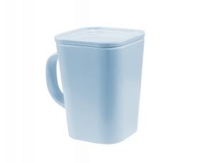 Mug Kotak dengan Tutup 340 ml