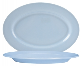 "16"" Oval Plate"