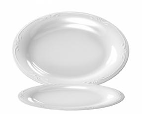 "10"" Klasik Series Oval Plate"